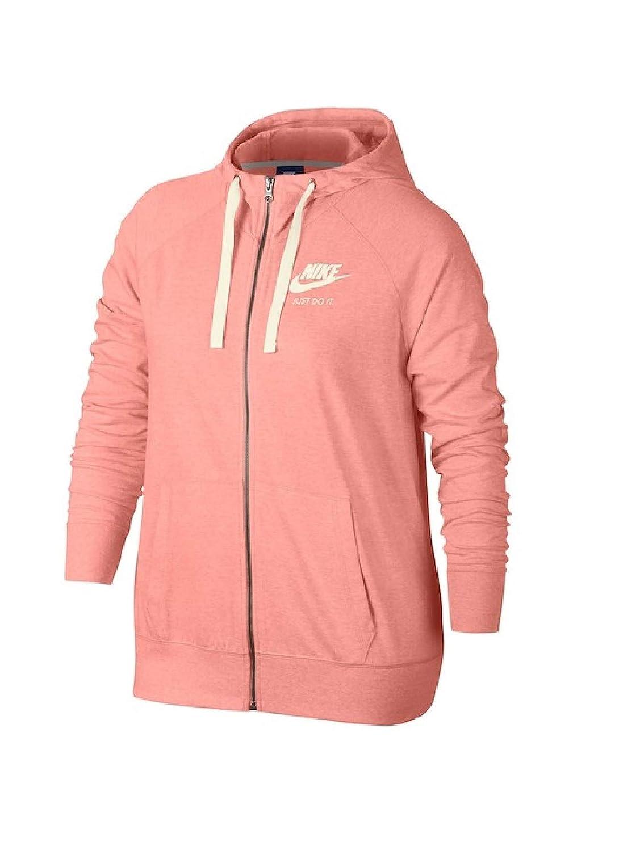 Nike Womens Sportswear Gym Vintage Full-Zip Hoodie