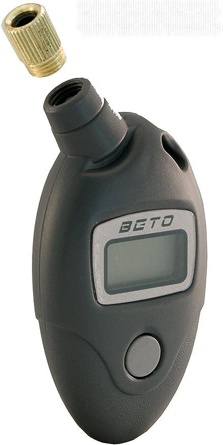 Manometro Digital BETO Presion Neumatico Bicicleta Moto Valvula ...