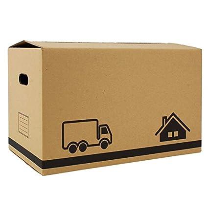 Confortime Caja Multiusos - Caja Mudanzas - Caja de cartón - Pack de 20 cajas -