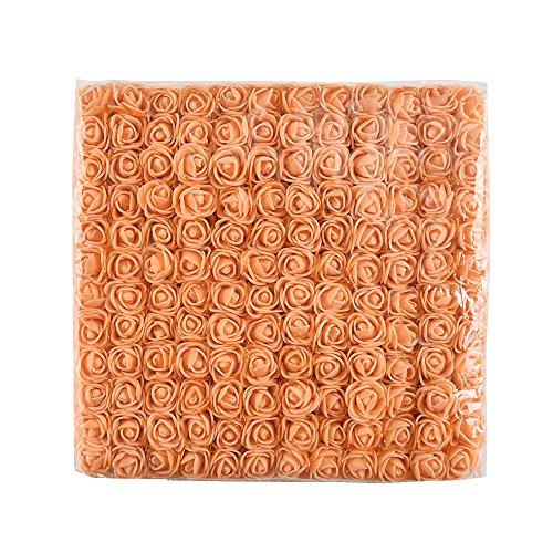 Mini-Foam-Rose-Artificial-Flower-Bouquet-Multicolor-Rose-Flower-Wedding-Scrapbooking-Decoration-Rose-Flower-Fake-144-pcs-2-cm-Black
