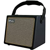 Acoustic Guitar Amplifier, 30 Watt Bluetooth Speaker Portable Rechargeable Amp with Microphone Input Supports Volume…