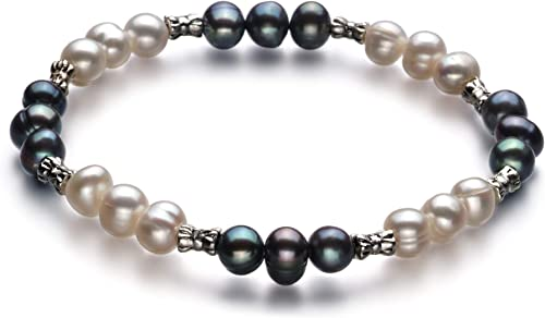 Bliss Black 6-7mm A Quality Freshwater Cultured Pearl Necklace