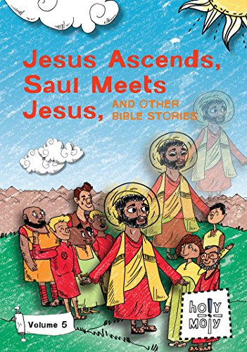 Ascend Collection - Jesus Ascends, Saul Meets Jesus, and Other Bible Stories: Volume 5 (The Holy Moly Bible Stories DVD Collection)