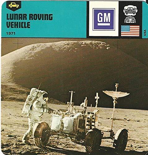 1978 Edito-Service, Automobile Rally Card, 06.08 Lunar Roving Vehicle, Moon ()
