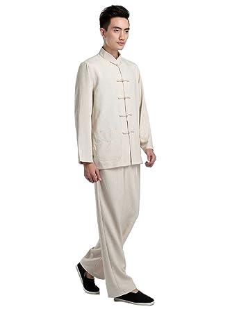 Amazon.com: Chaquetas retro de algodón y lino para colgar ...