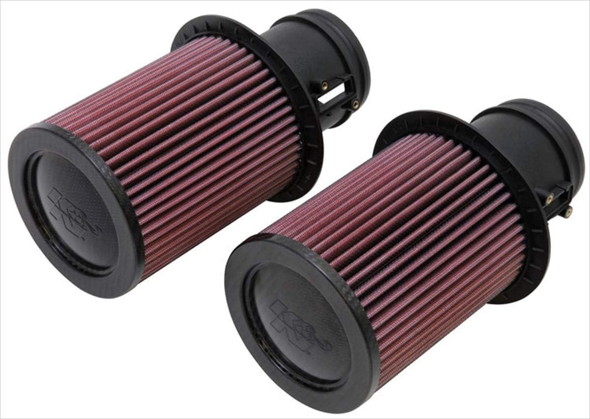 K/&N E-0669 Filtro de Aire Coche Lavable y Reutilizable
