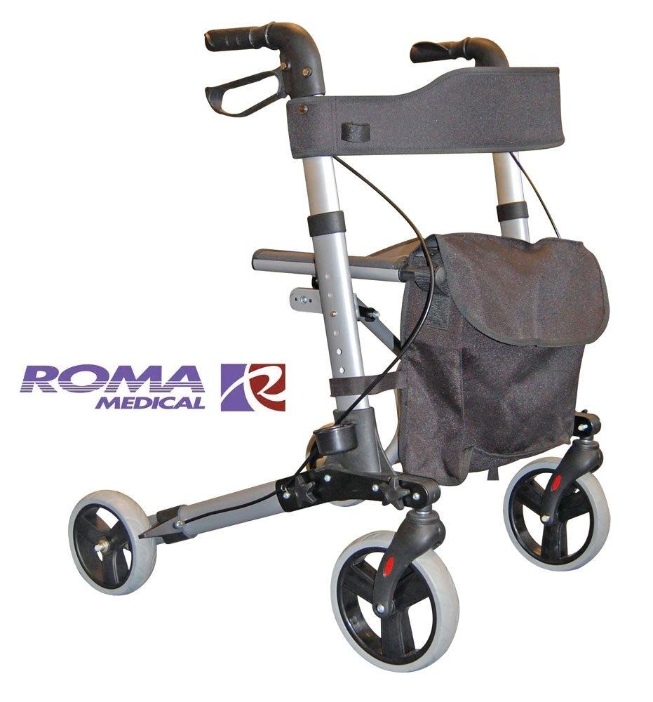 Roma City Walker andador plegable ligero 4 cilindro de asistencia ...