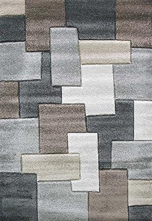 019 alfombra moderna de salon alfombra con marrones y cremas alfombra para habitacion crema y marrones - Alfombra Moderna