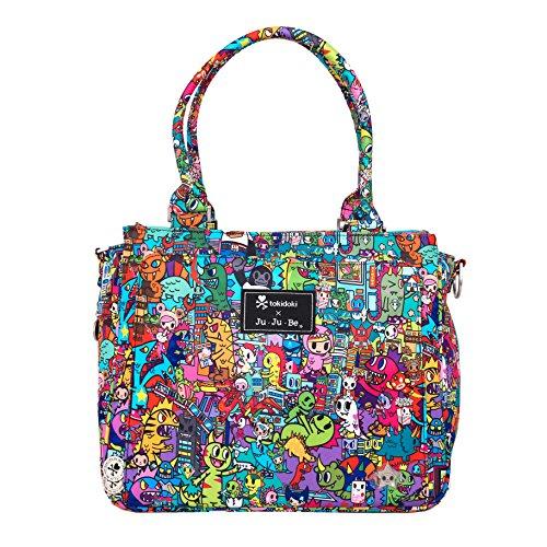 Ju-Ju-Be Be Classy Structured Handbag Diaper Bag - Tokidoki Kaiju City