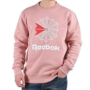 Reebok F Big Starcrest Crewneck Sudadera, Hombre, Rosa (chlpnk), M: Amazon.es: Deportes y aire libre