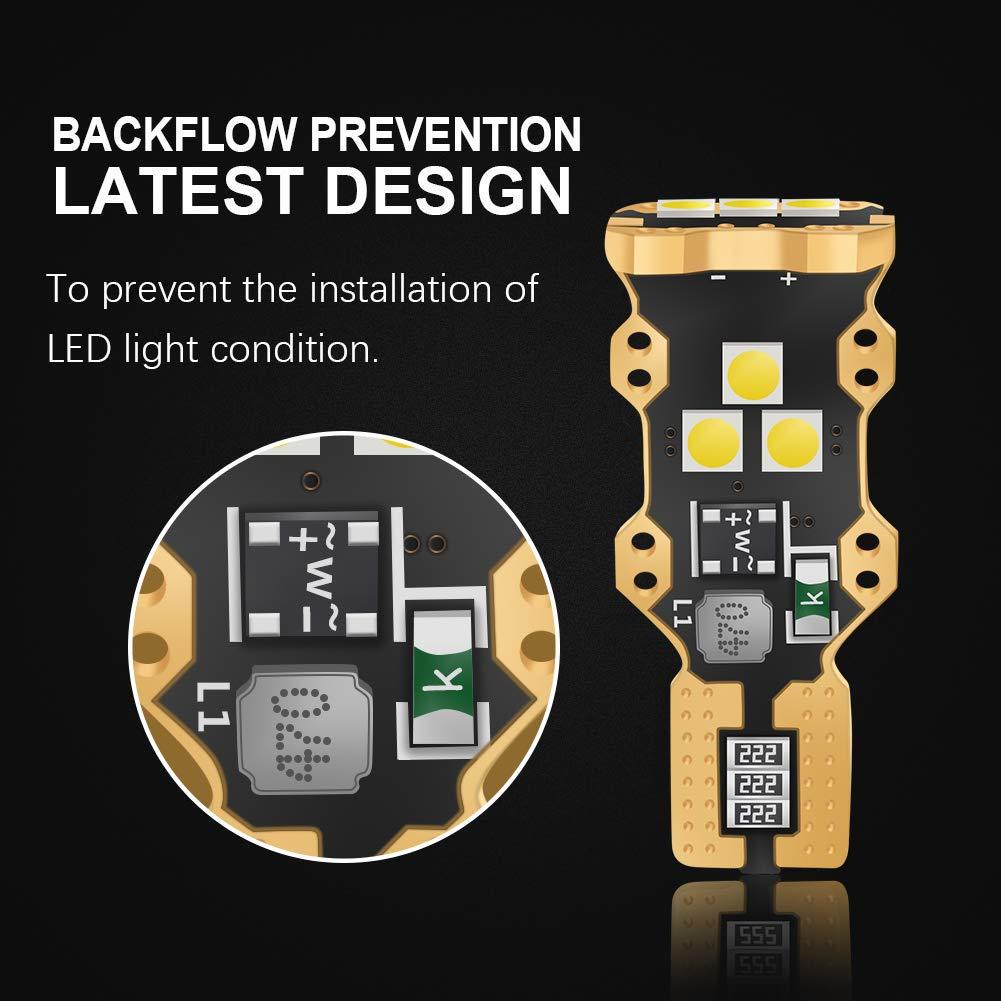 LncBoc C5W 39MM Ampoule Extr/êmement Lumineuse CANBUS 6SMD 3030 LED Plaque Ampoule Festons navette plafonnier Veilleuse voiture lumiere Xenon Blanc