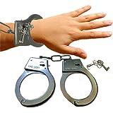 Party Theme Premium Valentine Handcuff / Bachelorette Handcuff / Hen Party Handcuff Steel Handcuffs