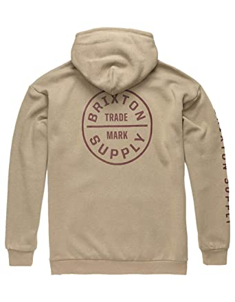732f5feb1e Image Unavailable. Image not available for. Color: Brixton Oath II Copper  Hoodie ...