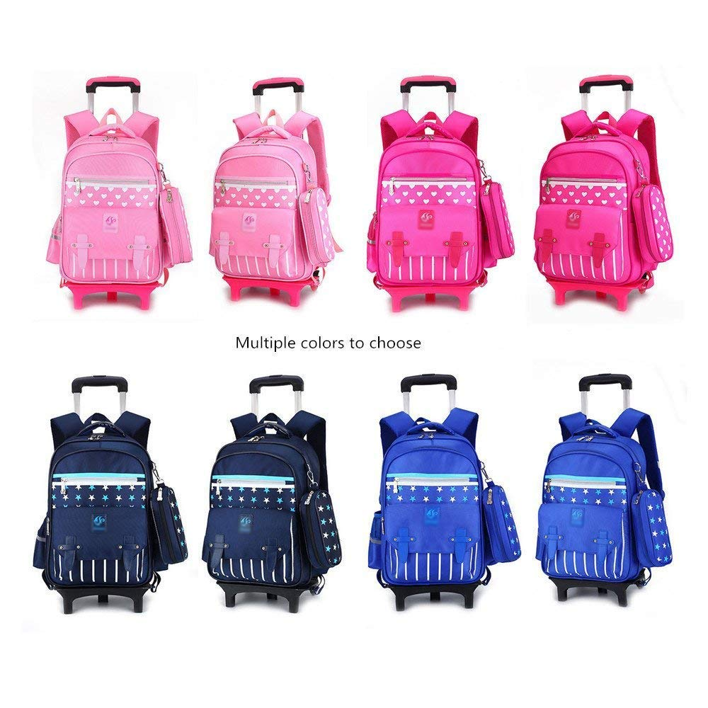 b9913a285efc Schoolbags & Backpacks C-Xka Trolley school bag Nylon Waterproof ...