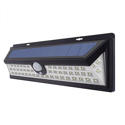 54 Movido A Energia Solar LEVOU Luz ao ar livre Lâmpada PIR Sensor de Movimento 3