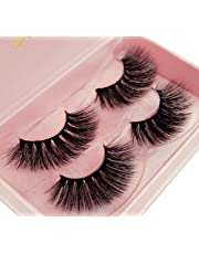c38573b1e95 New 2 Pairs Luxury Fluffy False Eyelashes Thick Long Natural Fake Lashes  Set High Quality 3D