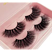 cd45d953a90 New 2 Pairs Luxury Fluffy False Eyelashes Thick Long Natural Fake Lashes  Set High Quality 3D