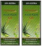 2 x Patanjali Kesh Kanti Hair Oil 100ml (Pack of 2)