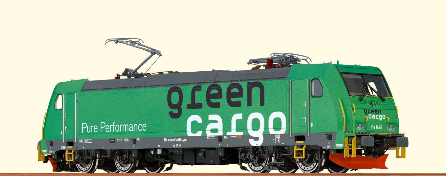 Brawa Brawa Brawa 43967 Elektrolokomotive TRAXX Re1428 der Grün Cargo 6e6f50