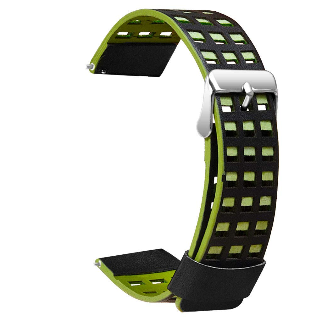 Clearance! For Huami AMAZFIT 2/2S Stratos Watch, Leather Bracelet Watchband for Women Men Adjustable Replacement Wrist