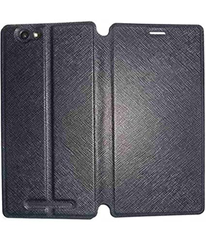 super popular d049d aa7af Lava X17 Flip Cover from Mercator - Black: Amazon.in: Electronics