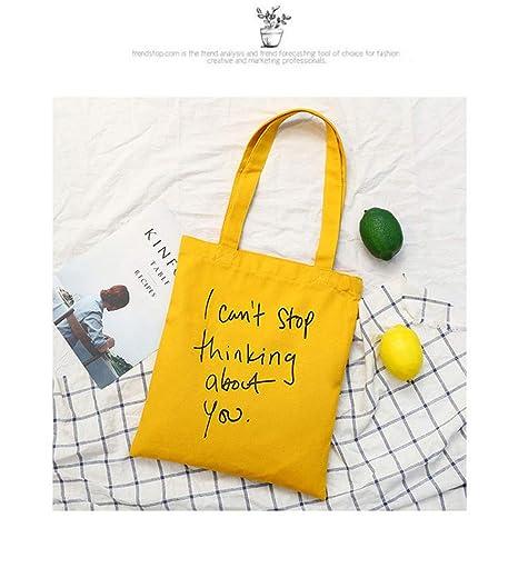 Bolsas de mano y hombro de algodón, reutilizables ...