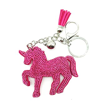 Da.Wa 1X Llavero Unicornio Rojo 9 * 8cm: Amazon.es: Hogar