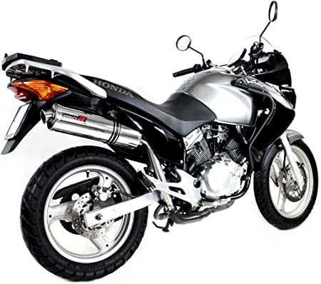 XL 125 V Varadero Escape Moto Deportivo Redondo Silenciador Dominator Exhaust Racing Slip-on 2007 2008 2009 2010 2011 2012