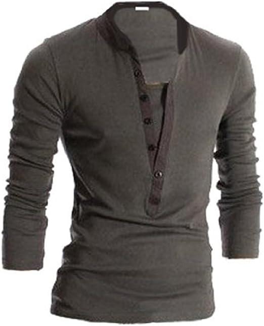 Diseño Elegante para Hombre Vestir Casual Slim-fit Polo T-Camiseta ...