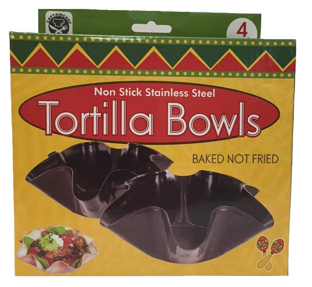 Tortilla Pan Set Non Stick Steel Set of 4 by Chefcaptain (Image #3)