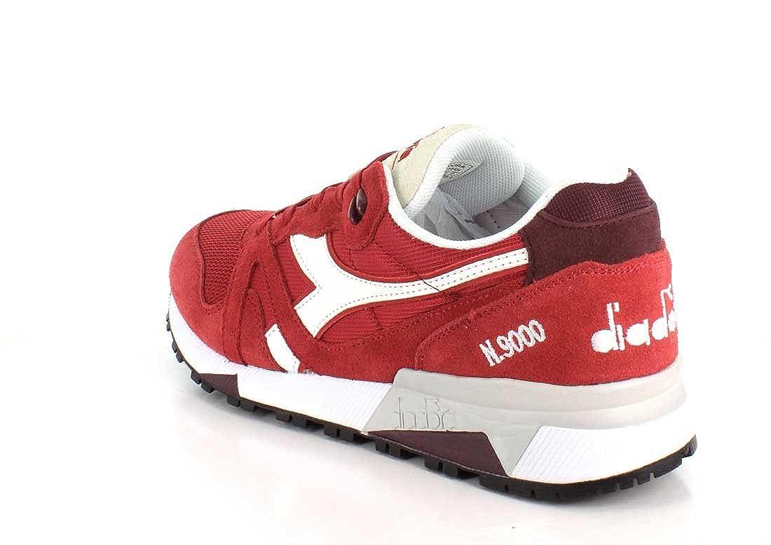 Diadora Unisex-Erwachsene N9000 Iii Sneaker Niedrig Hals, blau Violet Violet Violet ROT Bud 37029c