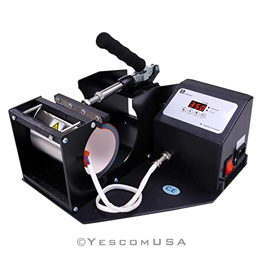 4 Programs Digital Cup Heat Transfer Press Sublimation Machine ...