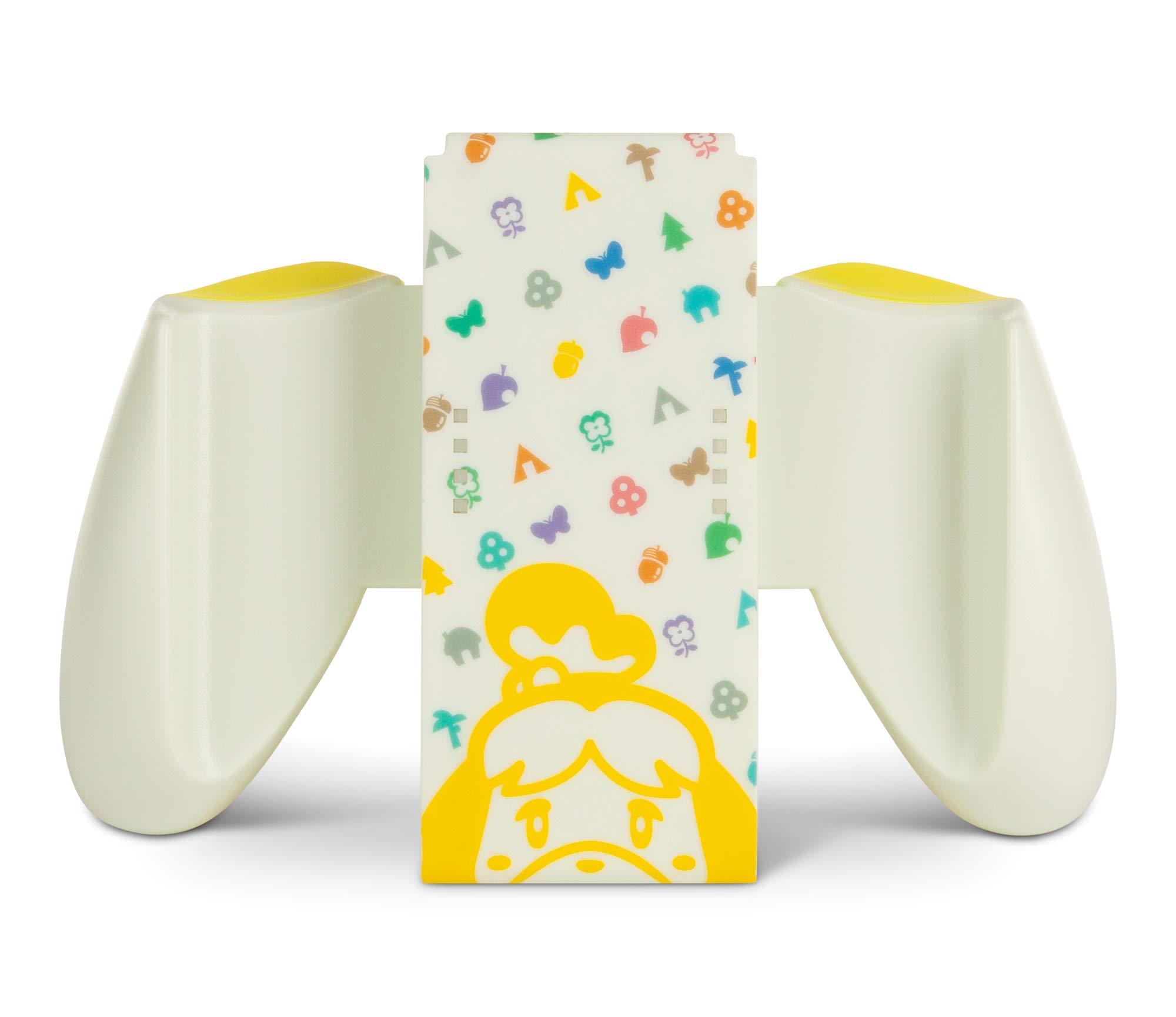 PowerA Joy-Con Comfort Grip for Nintendo Switch – Animal Crossing, Game Controller, Gamepad, Nintendo Switch Lite