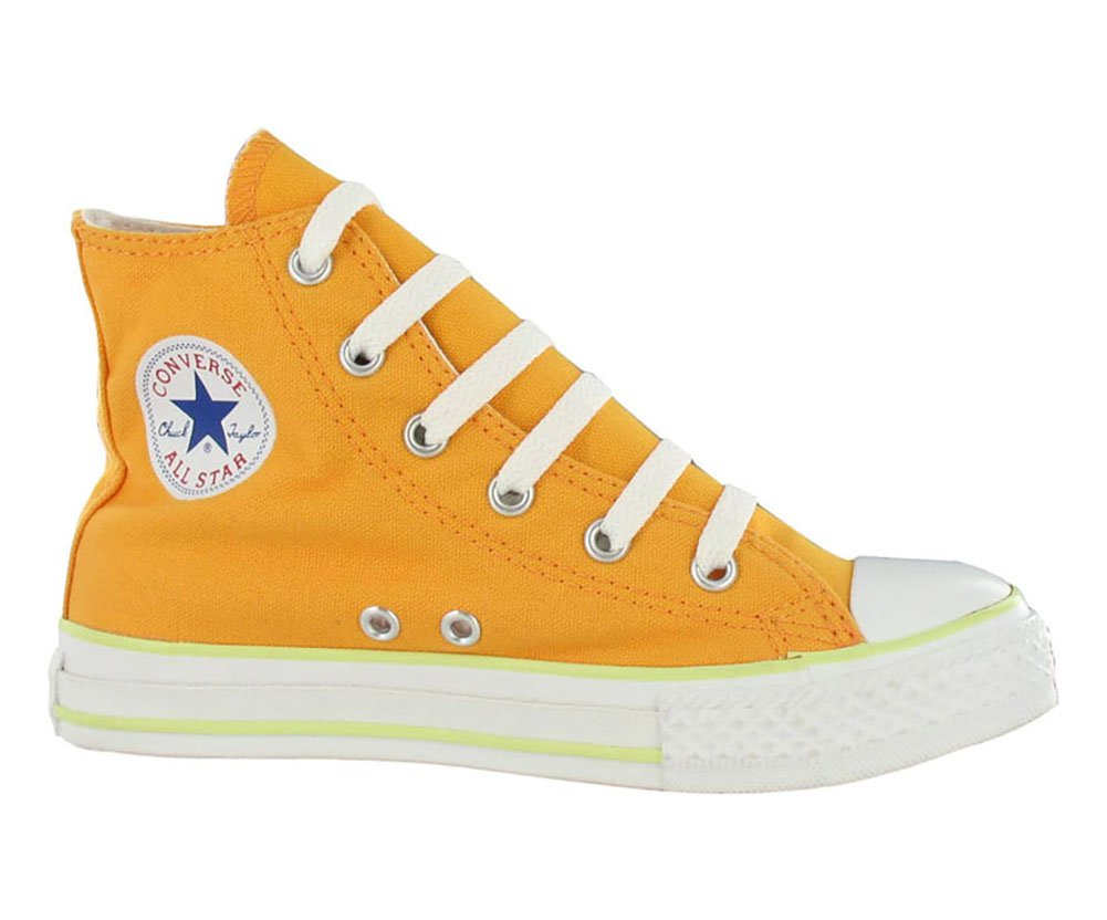 Converse All Star Chuck Taylor Space Hi Boys Canvas Shoes Size US 1, Regular Width, Color Blue/Orange/Yellow by Converse (Image #3)
