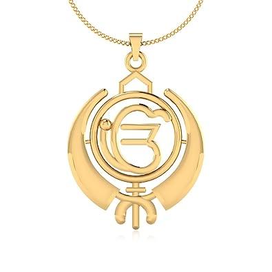 Buy iskiuski 925 silver ik onkar religious pendant without chain for iskiuski 925 silver ik onkar religious pendant without chain for men women aloadofball Images