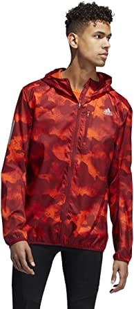 adidas mens Own the Run Hooded Jacket