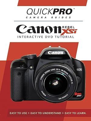 Amazon com: Canon EOS Rebel XSi: Todd Hanson, CreateSpace, Quickpro