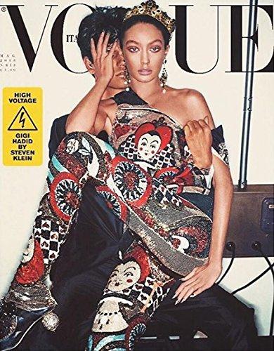 Vogue Italia Magazine (May, 2018) Gigi Hadid Cover (Gigi Hadid Vogue)