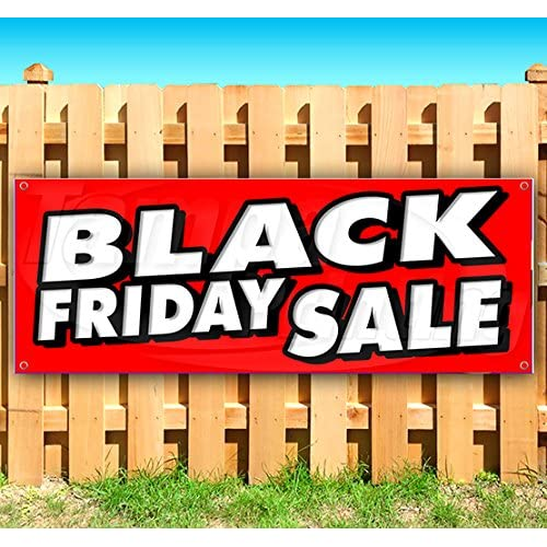 BLACK FRIDAY SALE 13 oz heavy duty vinyl banner sign with metal grommets, new, store, advertising, flag, (many sizes available) free shipping