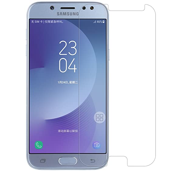 c230106445c Mica de Cristal Templado para Samsung Galaxy J7 Pro, J7 2017: Amazon .