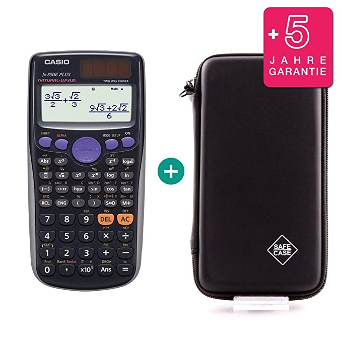 Erweiterte Garantie Schutztasche Casio FX-82SX Plus