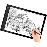 Tablero de dibujo de la caja de luz LED A4 - Tablero de la tabla de seguimiento de BESTGIFT Tablero de la tableta de la tableta digital ultrafina de YouTube para el artista