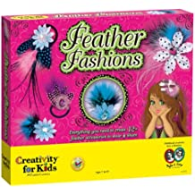 Creativity for Kids Feather Fashions