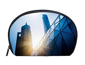 20393300d540 Amazon.com : Custom design Portable Toiletry Cosmetic Bag Shanghai ...
