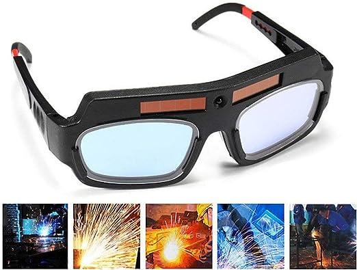 Amazon.com: 1 par de gafas de soldar negras y solares para ...
