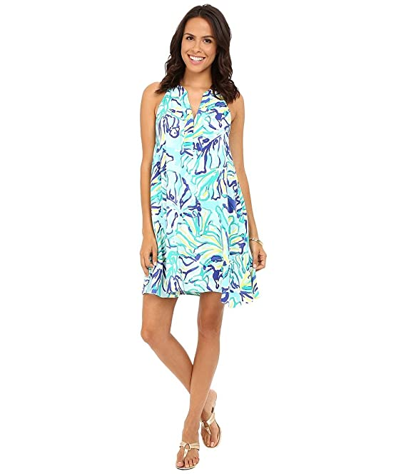 3197bacc4849 Lilly Pulitzer Women's Achelle Dress Pool Blue Stay Cool Dress XS:  Amazon.ca: Clothing & Accessories