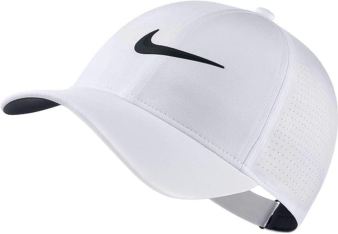 Nike AeroBill Legacy91 Gorra de béisbol, Mujer, Blanco (Blanco 100 ...