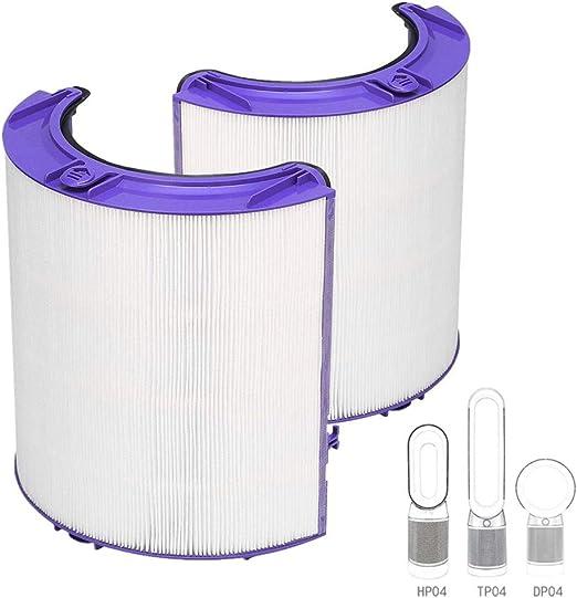 Sweet D Purificador de Aire Dyson DP04 TP04 HP04 Pure CoolTM Ventilador Filtro HEPA de Vidrio: Amazon.es: Hogar