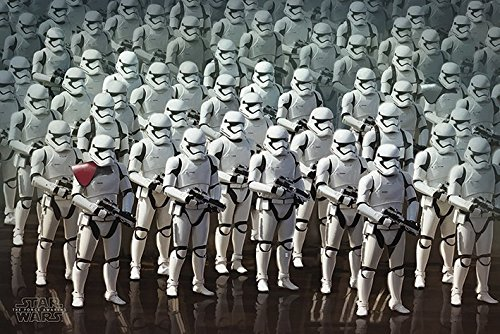 Star Wars: Episode VII - The Force Awakens - Movie Poster / Print (Stormtrooper Army) (Size: 36