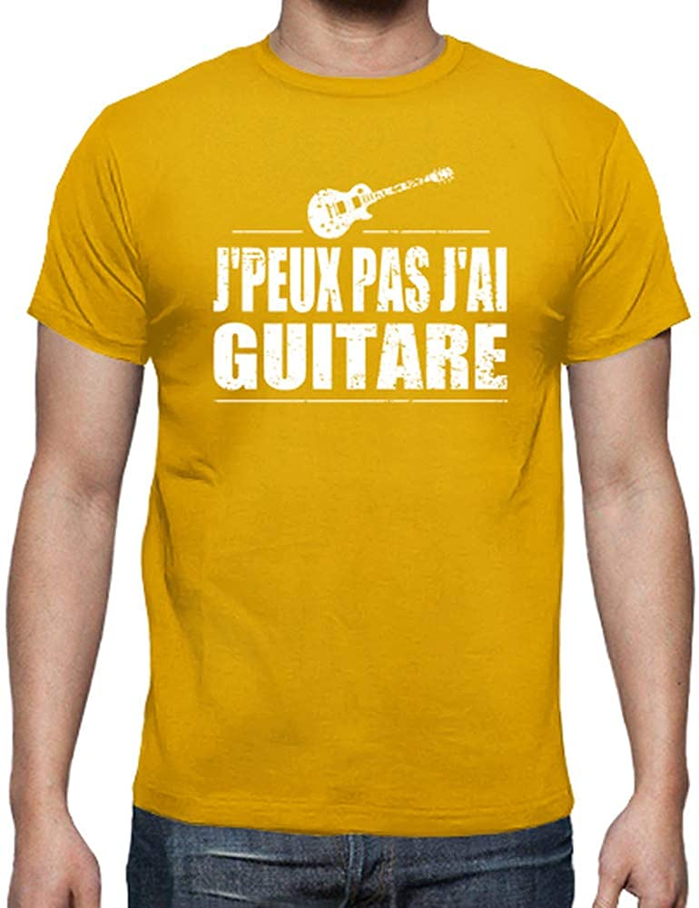 tostadora Tee Shirt Jpeux Pas JAi Guitare Tee Shirt Homme qualit/é sup/érieure